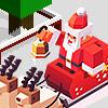 Santa Sledding