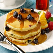 Easy Blueberry Pancakes image