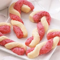 Candy Cane Cookies image