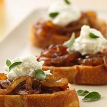 Caramelized Onion Bruschetta image