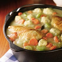 Slow Cooker Chicken and Dumplings image