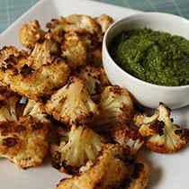 Balsamic & Parmesan Roasted Cauliflower image