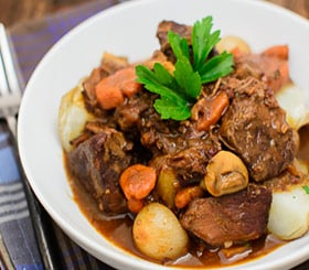 Beef Stew in Red Wine Sauce image
