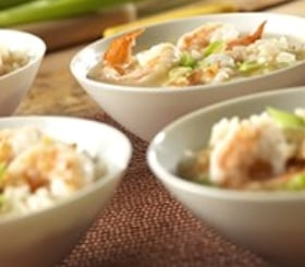 Brothy Shrimp & Rice Scampi image