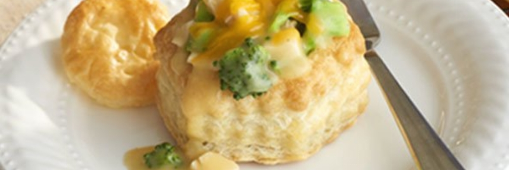 Cheddary Chicken & Broccoli in Pastry