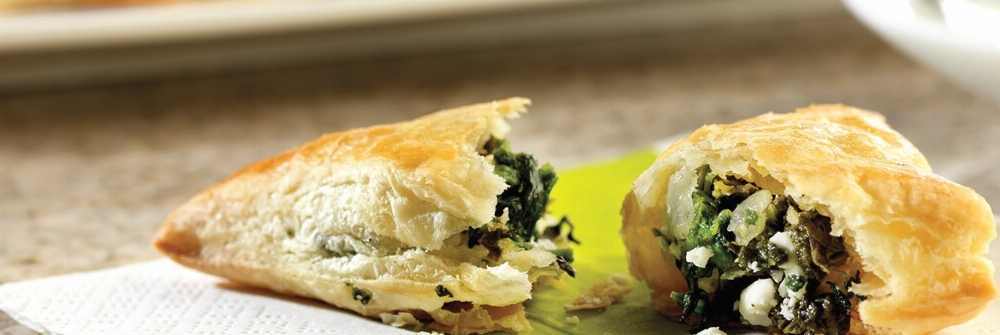 Spinach and Feta Mini-Calzones