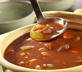 Hearty Vegetable Beef Soup image