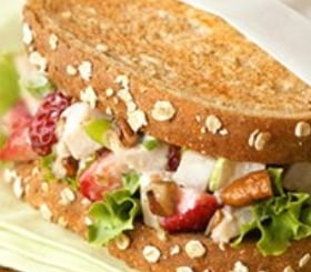 Balsamic Berry and Turkey Salad Sandwiches image