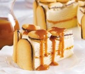Cookie & Caramel Ice Cream Cake image