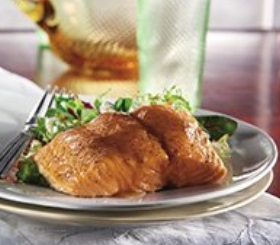 Citrus Balsamic Salmon image