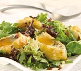 Gorgonzola & Honey Pear en Croûte Salad image