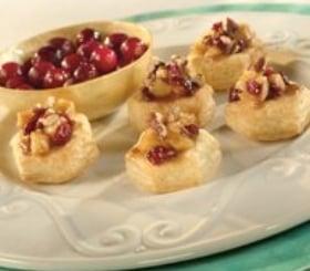 Mini Caramelized Apple & Cranberry Gratin Cups image