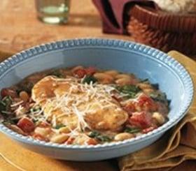 Tuscan Turkey & Beans image