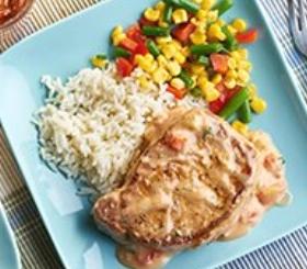 Saucy Creole Pork Chops image