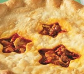 Inside Out Pizza Casserole image