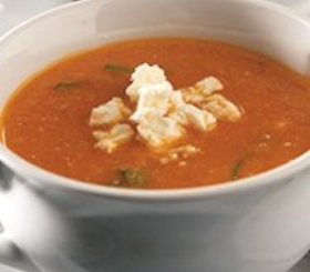 Roasted Tomato & Eggplant Bisque image