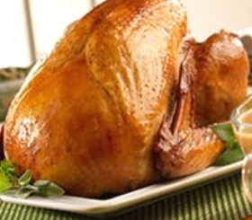 Classic Roasted Turkey with Pan Gravy image