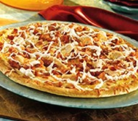 Chicken Ranch Pizza with Bacon image