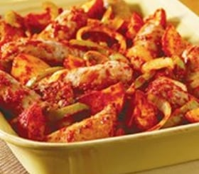 Hearty Sausage, Peppers & Potatoes image