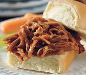 Slow-Cooked Pulled Pork Sliders image