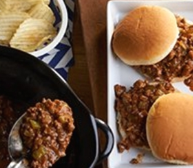 Slow Cooker Savory Sloppy Joes image