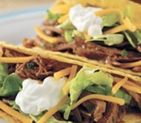 Slow-Cooked Taco Shredded Beef image
