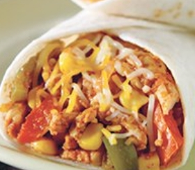 Turkey Fajita Wraps image
