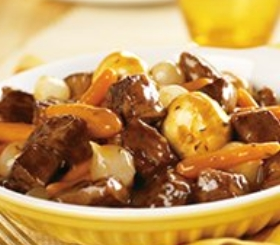 Slow Cooker Simple Beef Bourguignon image