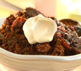 Slow Cooker Gingerbread with Dried Cherries image