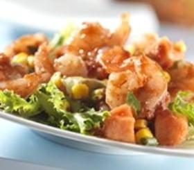 Papaya Shrimp Salad image