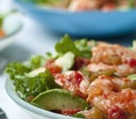 SalsaShrimp & Avocado Salad image