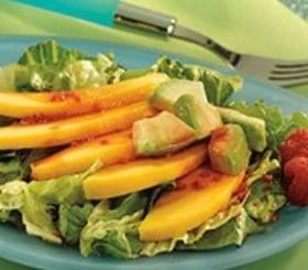 Mango & Avocado Salad with Açai Berry Vinaigrette image