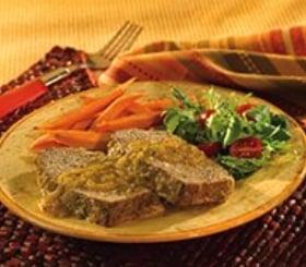 Salsa Verde Meatloaf image