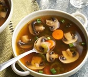 Easy Mushroom Soup image