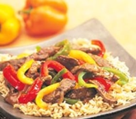Steakhouse Beef & Pepper Stir-Fry image